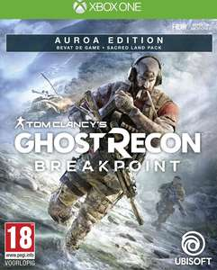 Ghost Recon Breakpoint Auroa Edition - Xbox One + ps4 €19.99