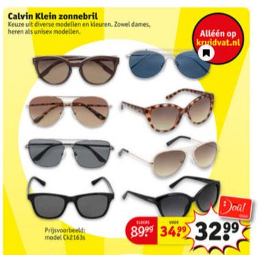 Calvin Klein zonnebrillen [div modellen] @ Kruidvat