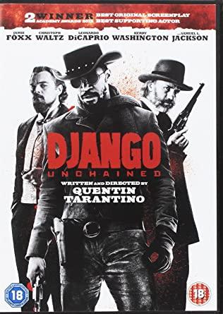 Django Unchained - Quentin Tarantino & Jamie Foxx - DVD - 8.4 IMDB rating