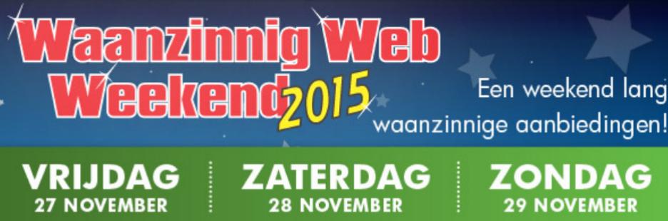 [Black Friday] Waanzinnig Web Weekend @ Informatique