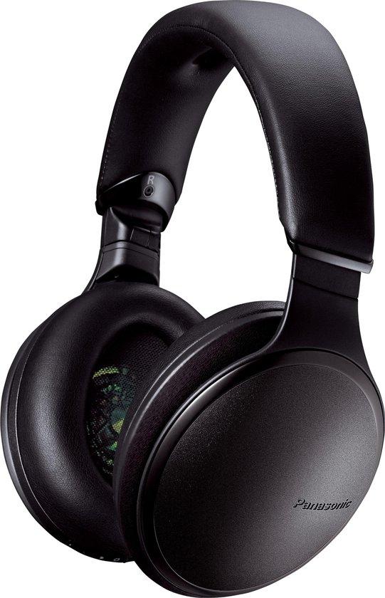Panasonic RP-HD605NE-K - Draadloos - Noise cancelling - afstandsbediening