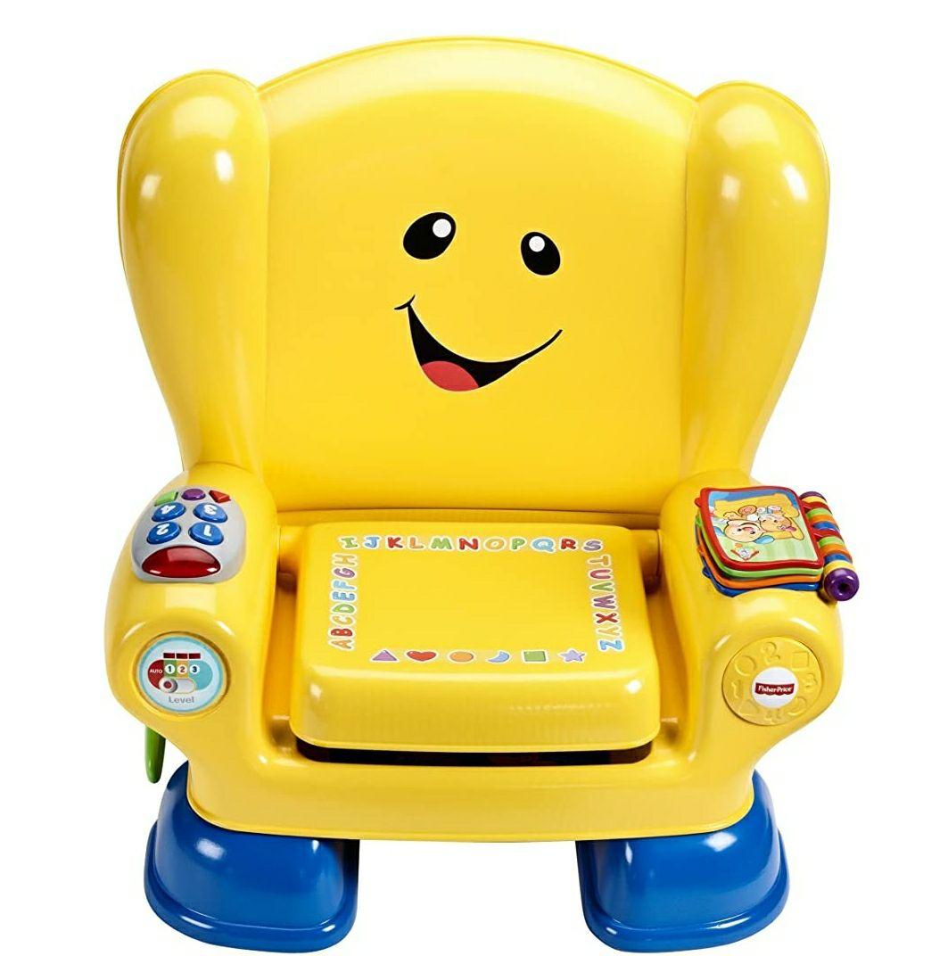 Fisher-Price Smart Stages - stoel Medium geel