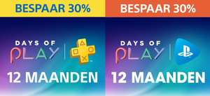 12 maanden PlayStation Plus of PlayStation Now @ PlayStation Store