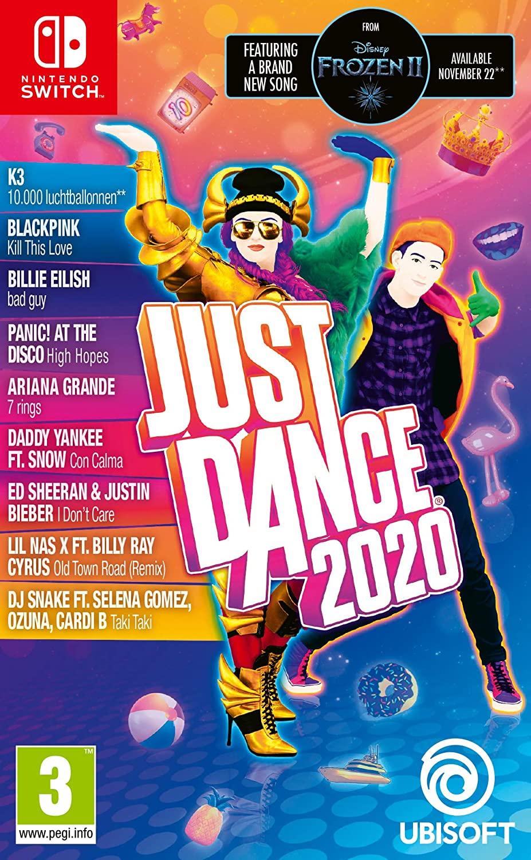 Just Dance 2020 Nintendo Switch fysiek spel