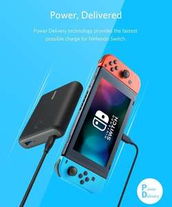 Anker PowerCore Speed USB-C Powerbank 13.400 mAh Nintendo Switch Edition