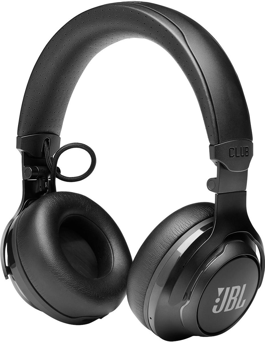 JBL Club 700BT - zwart - bedraad en draadloos - USB Type-C - geen ANC