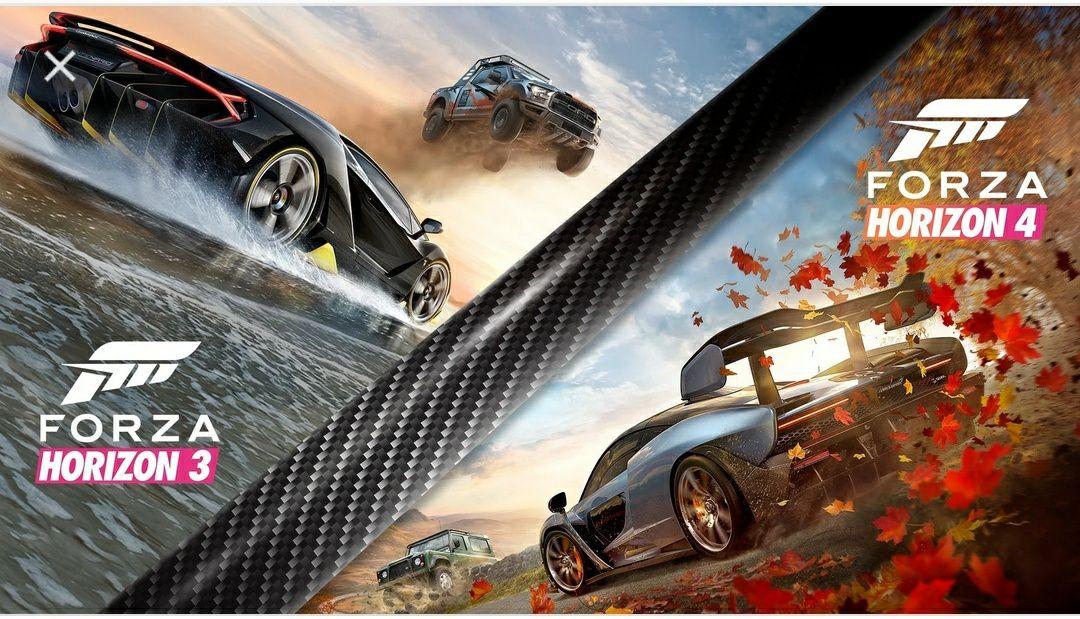 Bundel met Forza Horizon 4 en Forza Horizon 3 Ultimate Edition (PC en XBOX)