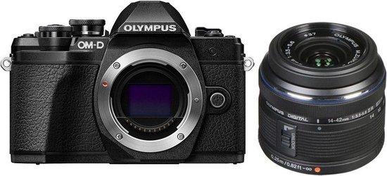 Olympus OM-D E-M10 Mark III Zwart + 14-42mm IIR systeemcamera @ Bol.com