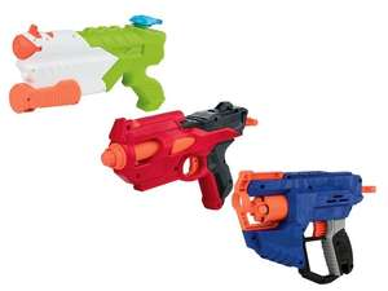 Nerf (water)blasters (div.modellen)