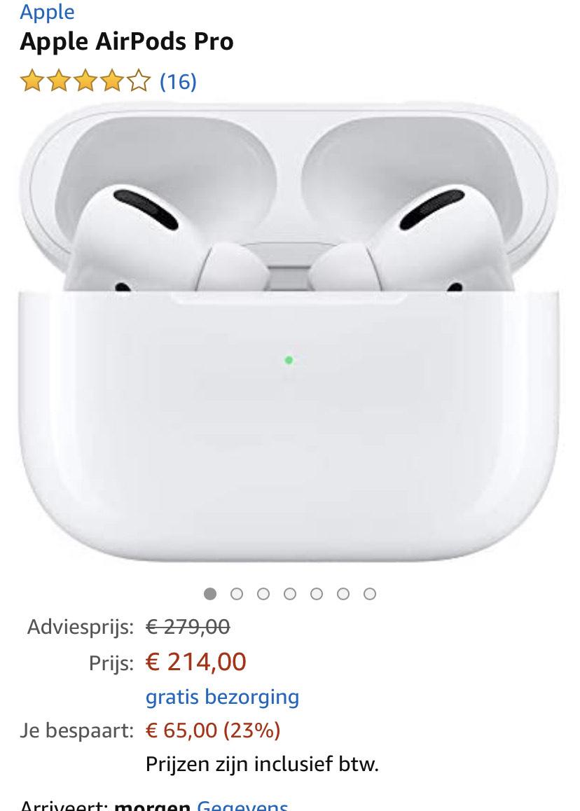 Apple Airpods Pro @ Amazon.nl