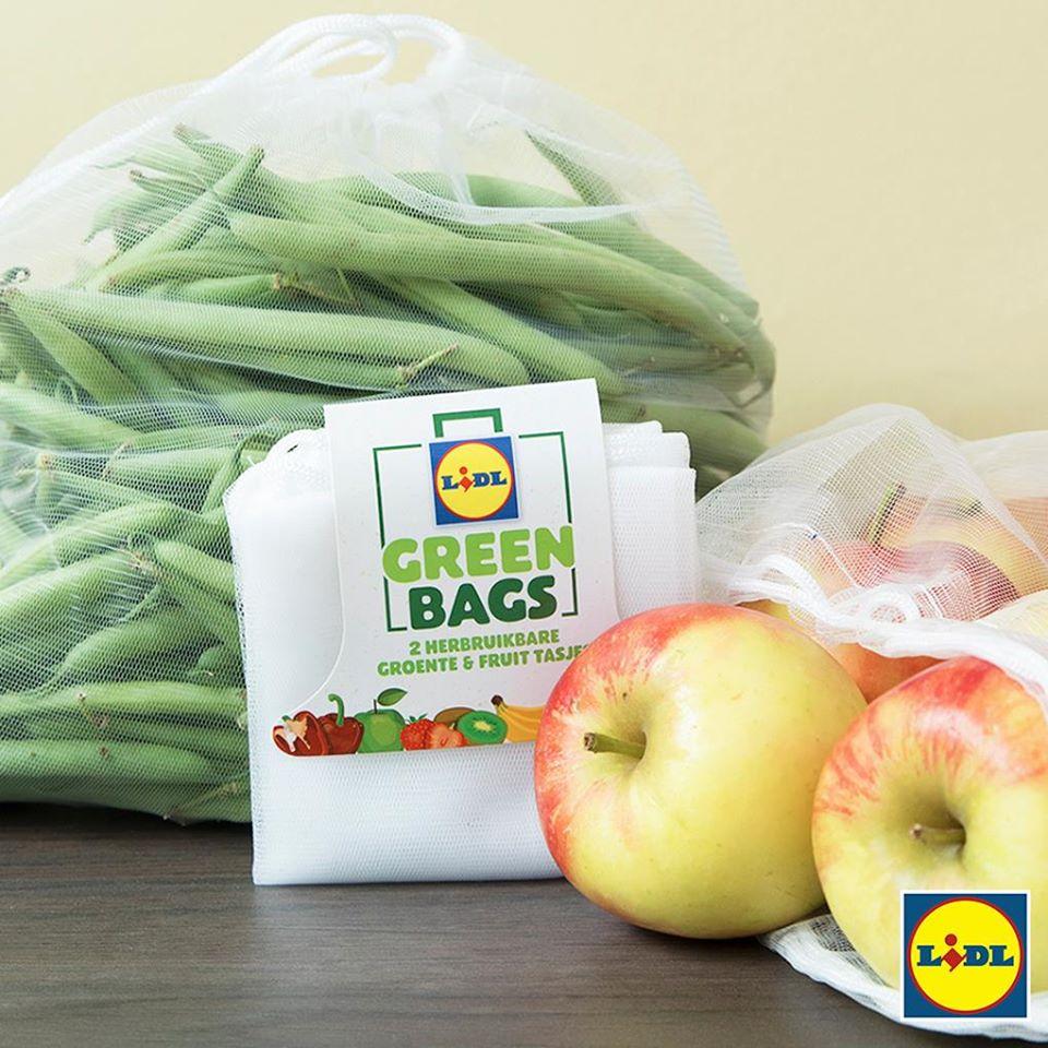 Lidl gratis Green Bag vanaf 25 euro