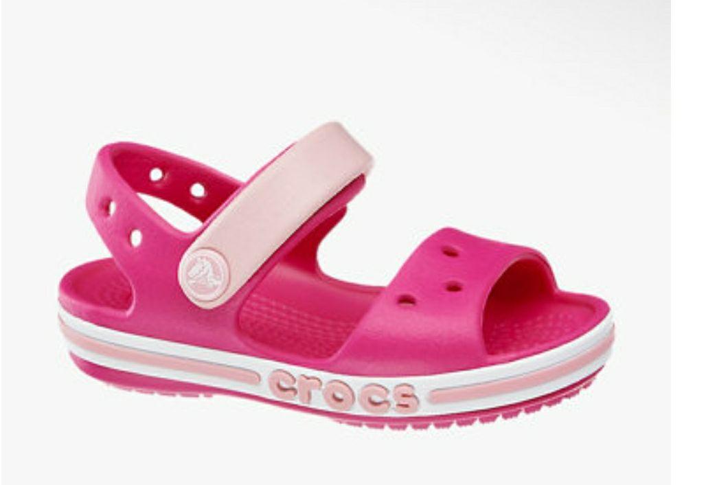 Sandalen crocs roze