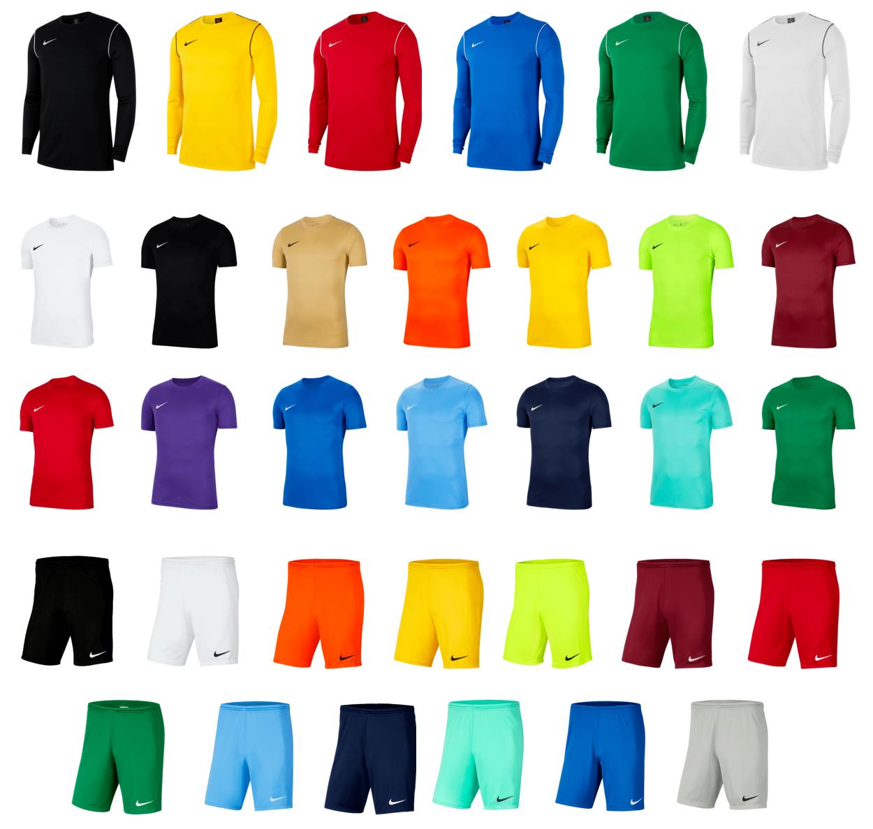 Nike Park Set (1 shirt, 1 t-shirt en 1 short) voor €36,95 - kies&mix