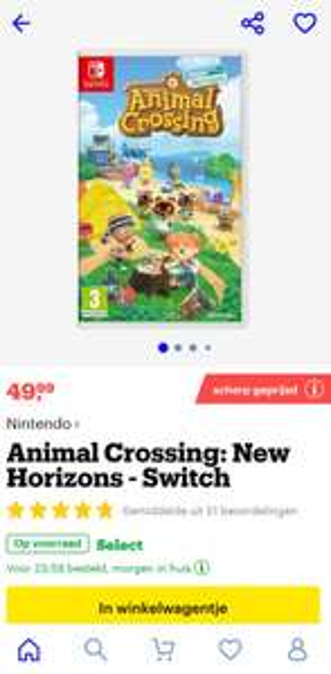 Animal crossing new horizons (NL)
