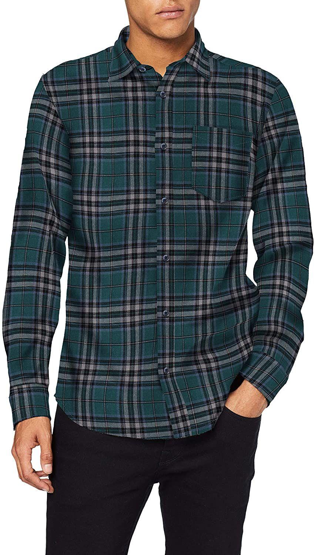Jack & Jones heren Jorbrook shirt Ls vrijetijdshemd