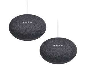 2x Google Home Mini