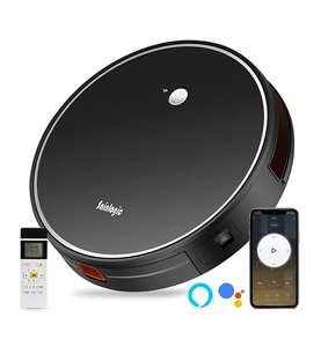 [Robotstofzuiger Smart] | 2500 PA | Google & Alexa assistant | Amazon.de
