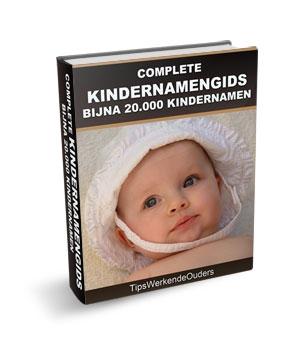 Gratis Kindernamengids -  tips voor het kiezen van kindernamen