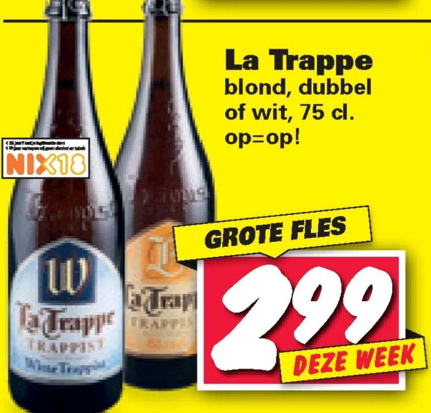 La Trappe 75cl of Hertog Jan 50cl @ Nettorama