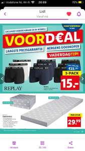 Replay boxershorts 3-pack @ Lidl