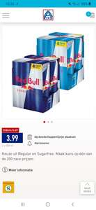 4-pack Red Bull € 3,99 (Aldi)