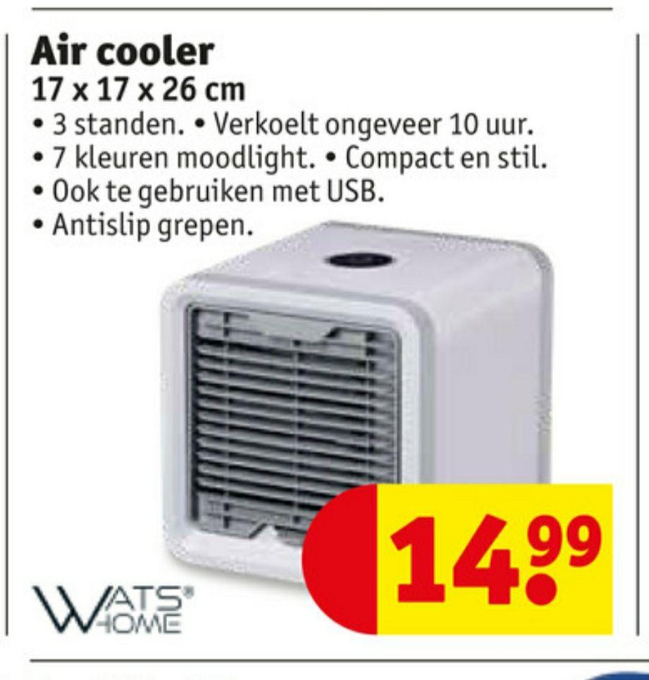 Watshome Air Cooler 16x16x16cm