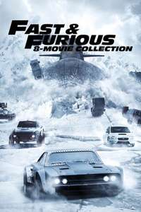 Fast and Furious 8 Film Collection (4K HDR) @iTunes