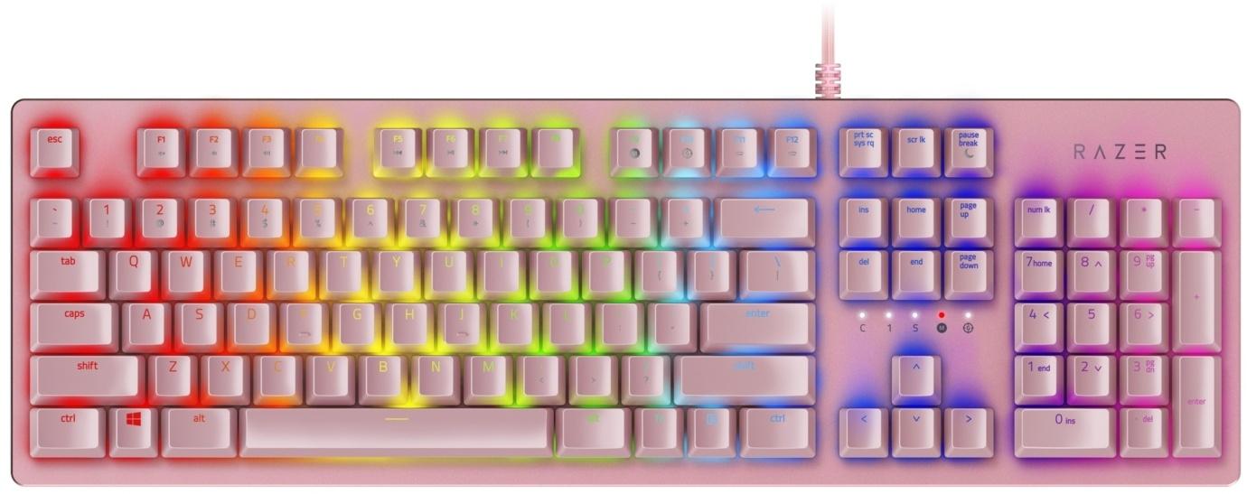 Razer Huntsman Quartz Edition - Mechanisch Gamingtoetsenbord - QWERTY Toetsenborden