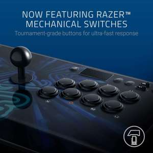 Razer Panthera Evo Arcade Stick - compatibel met PS4 en Windows PC.