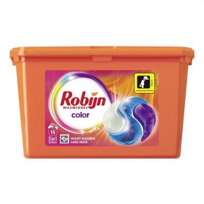 Robijn Color 3 in 1 Wascapsules 4 x 15 wasbeurten Voordeelverpakking @ Amazon.nl