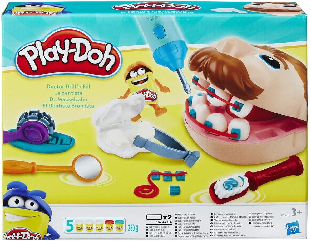 Play-Doh Tandarts (Dr. Wiebeltand) set voor €9,99 @ Amazon NL