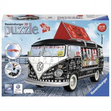 Ravensburger Puzzel 3D VW Bus Food Truck (162 stukjes) @ Dagknaller