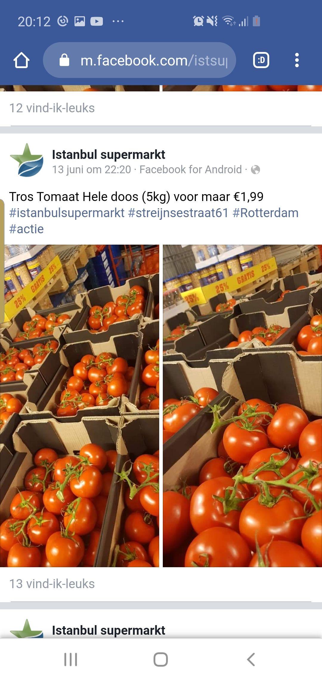 [LOKAAL] 5 kilo tomaten @ Istanbul supermarkt