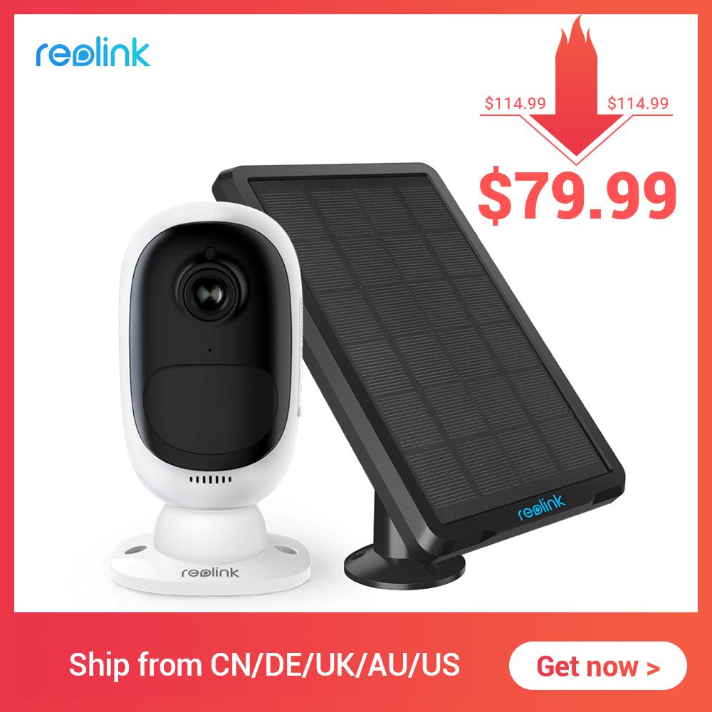 Reolink Argus 2 wifi camera + zonnepaneel met oplaadbare batterij