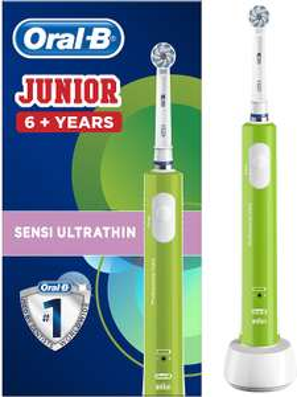 ORAL-B Junior 6+ tandenborstel - Groen @Amazon.co.uk