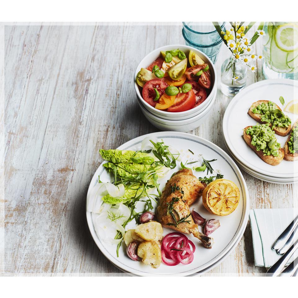 16-delige servies set van Jamie Oliver @ Dagknaller