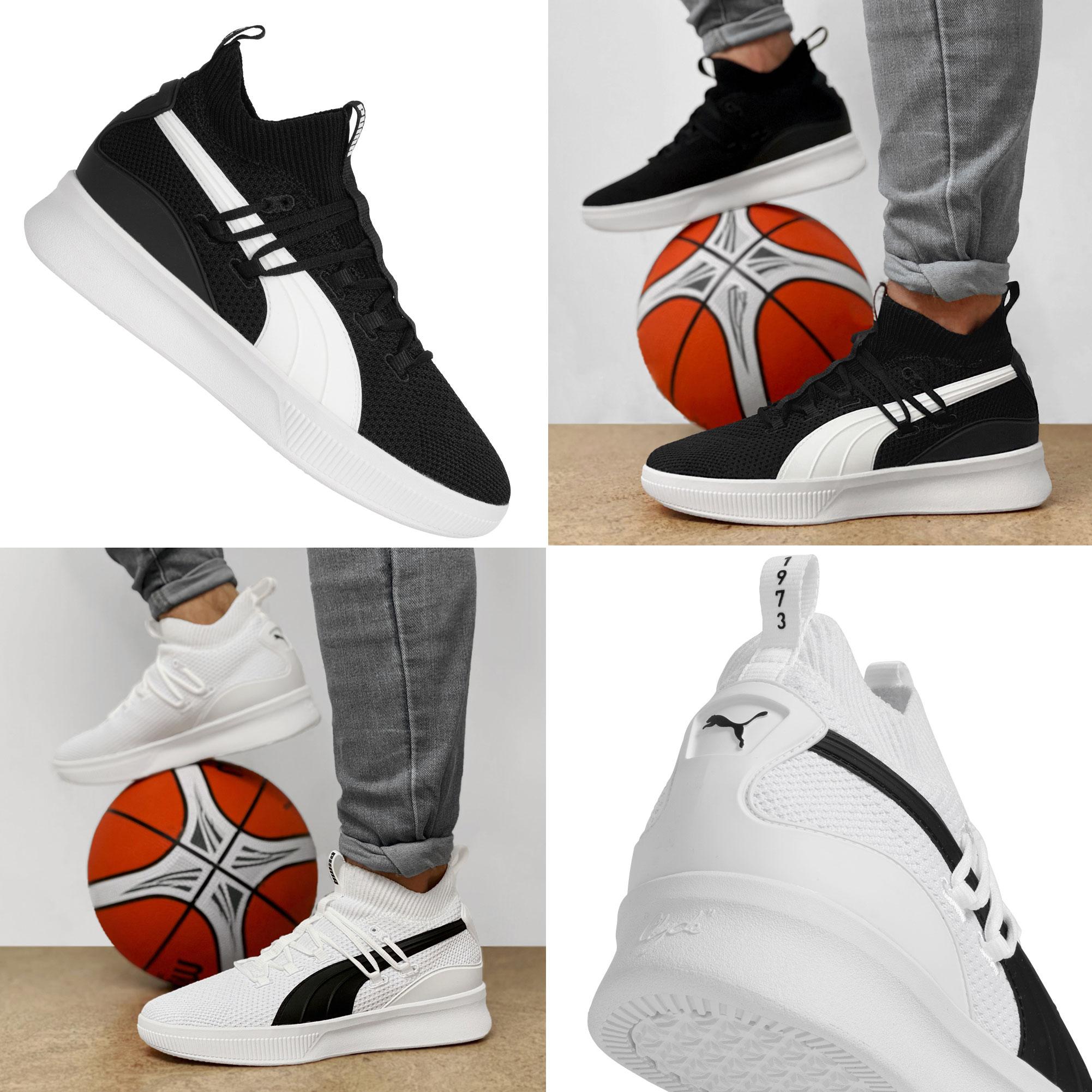 PUMA Clyde Court basketbalschoenen / sneakers @ Sport-Korting