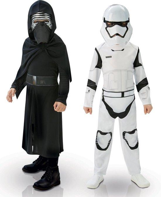 Star Wars EP7 Kylo Ren & Stormtrooper Box kinder kostuums box - maat 116/128