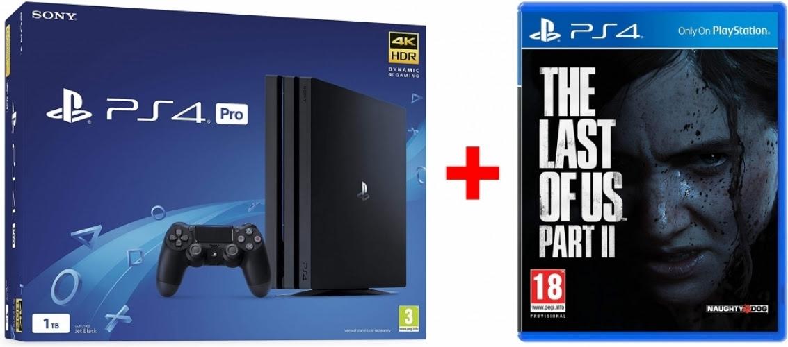 The Last of Us Part II (disc) tijdelijk gratis bij aankoop van een PS4 Slim of Pro