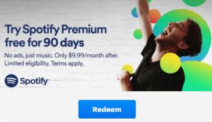 Gratis 3 maanden Spotify Premium voor Chromecast bezitters @ Google