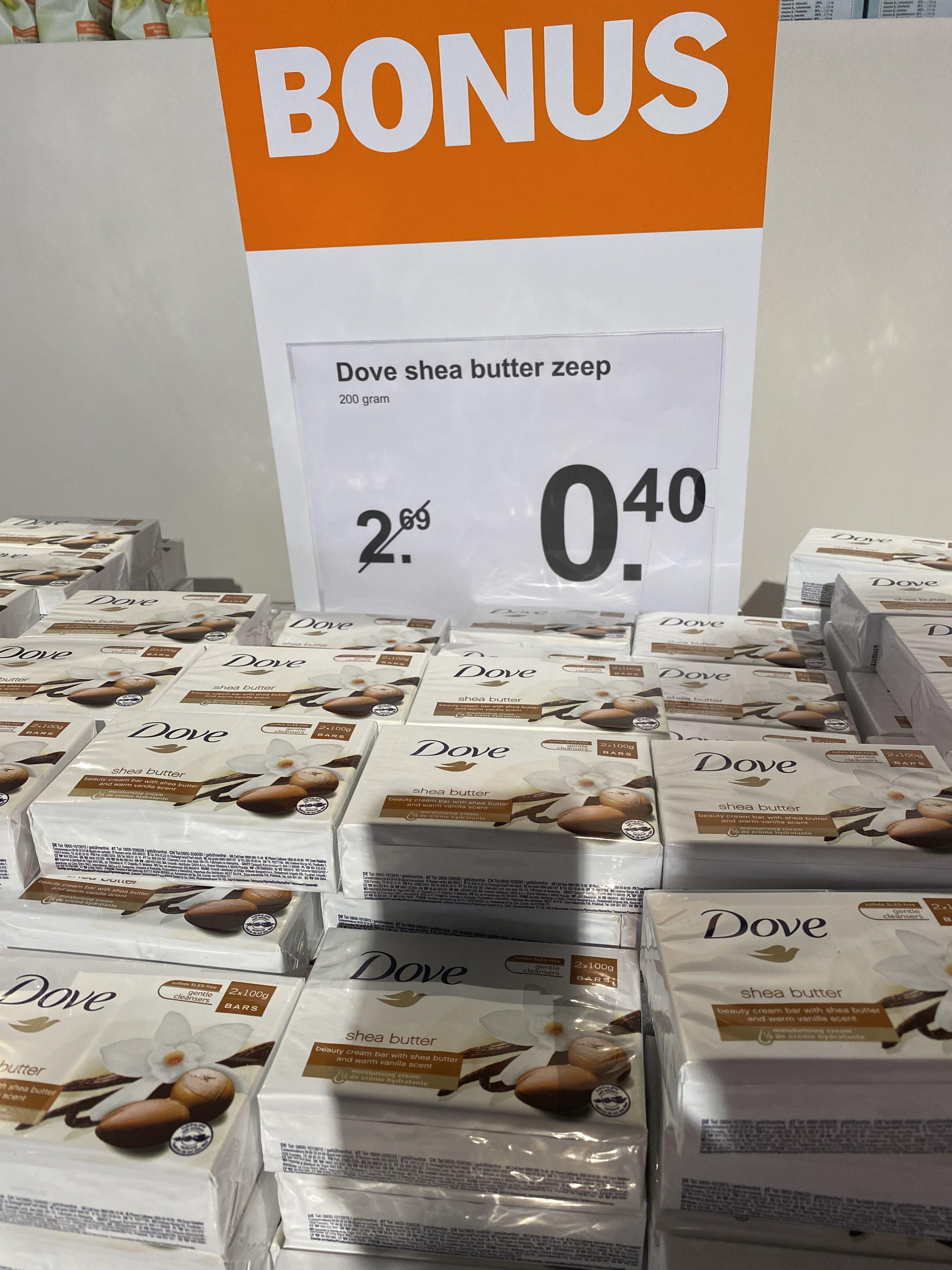 LOKAAL Leidschendam Dove zeep 2 x 100 gram