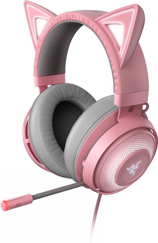 Razer Kraken Kitty Headset (Roze)