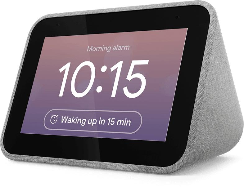 Lenovo Smart Clock - Grijs - ZA4R0003SE
