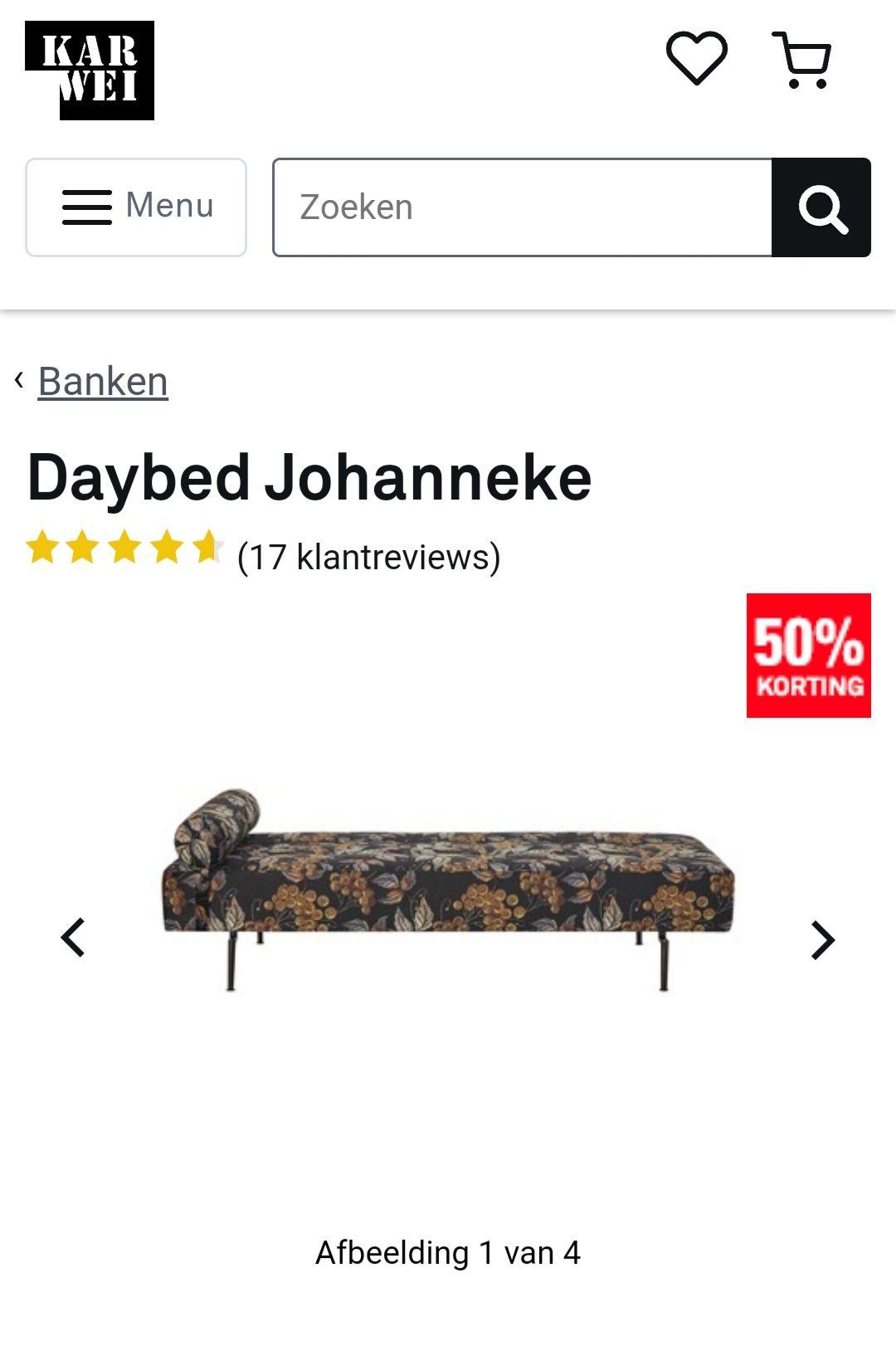 Daybed Johanneke