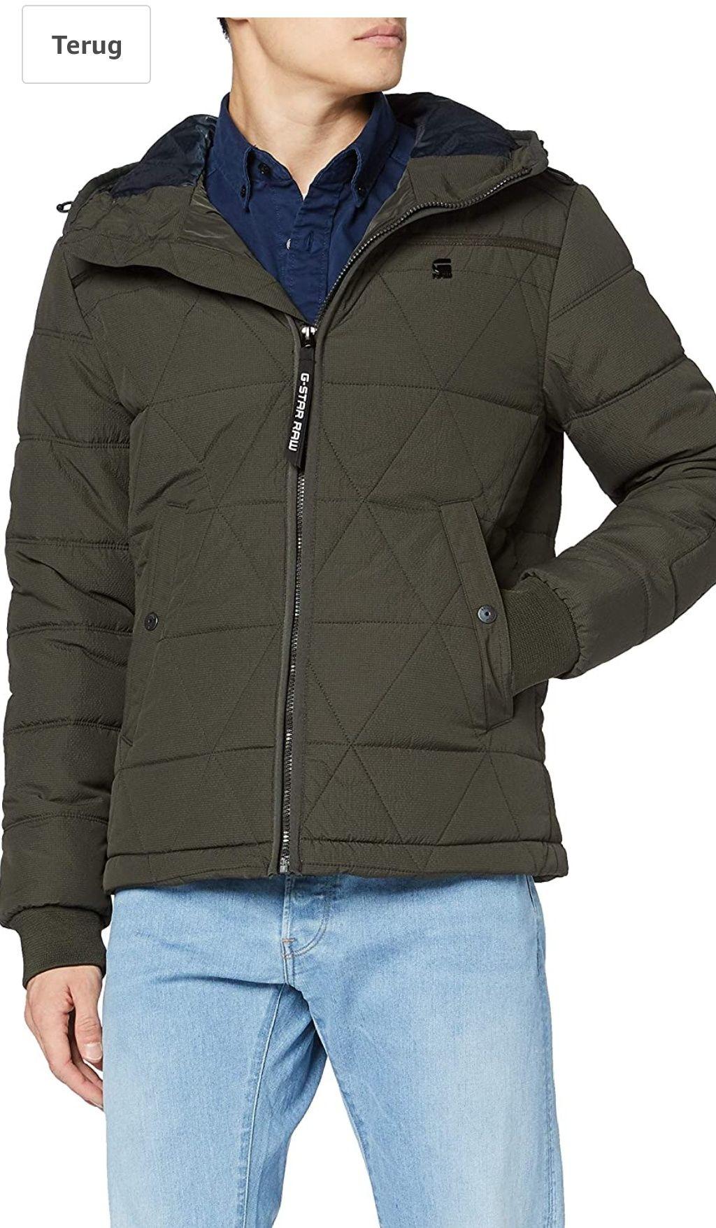 G-Star EDLA Multiquilt Hooded Winterjas