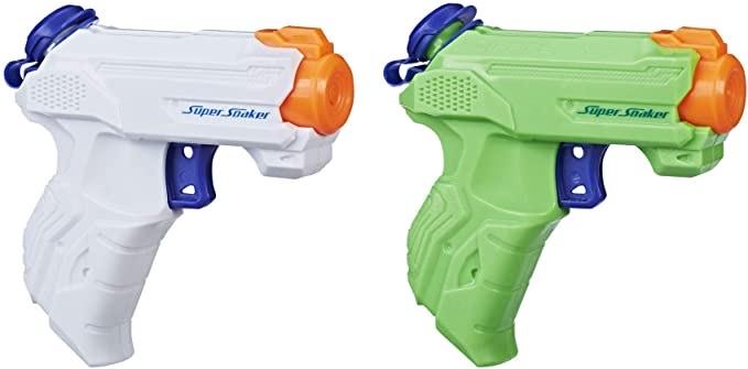 Hasbro E2155EU5 - Super Soaker ZipFire waterspuitpistool, 2-pak