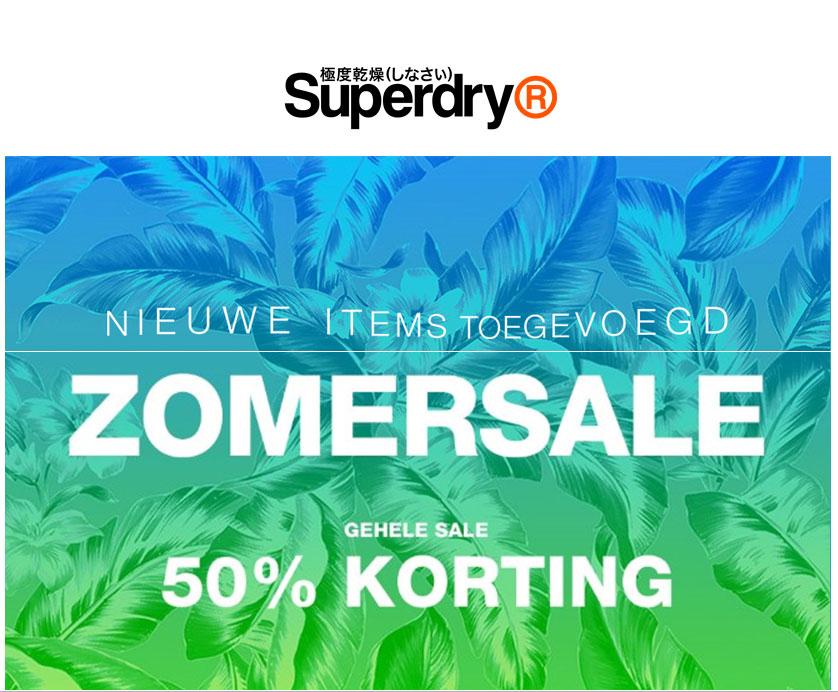 SALE - alles -50% @ Superdry