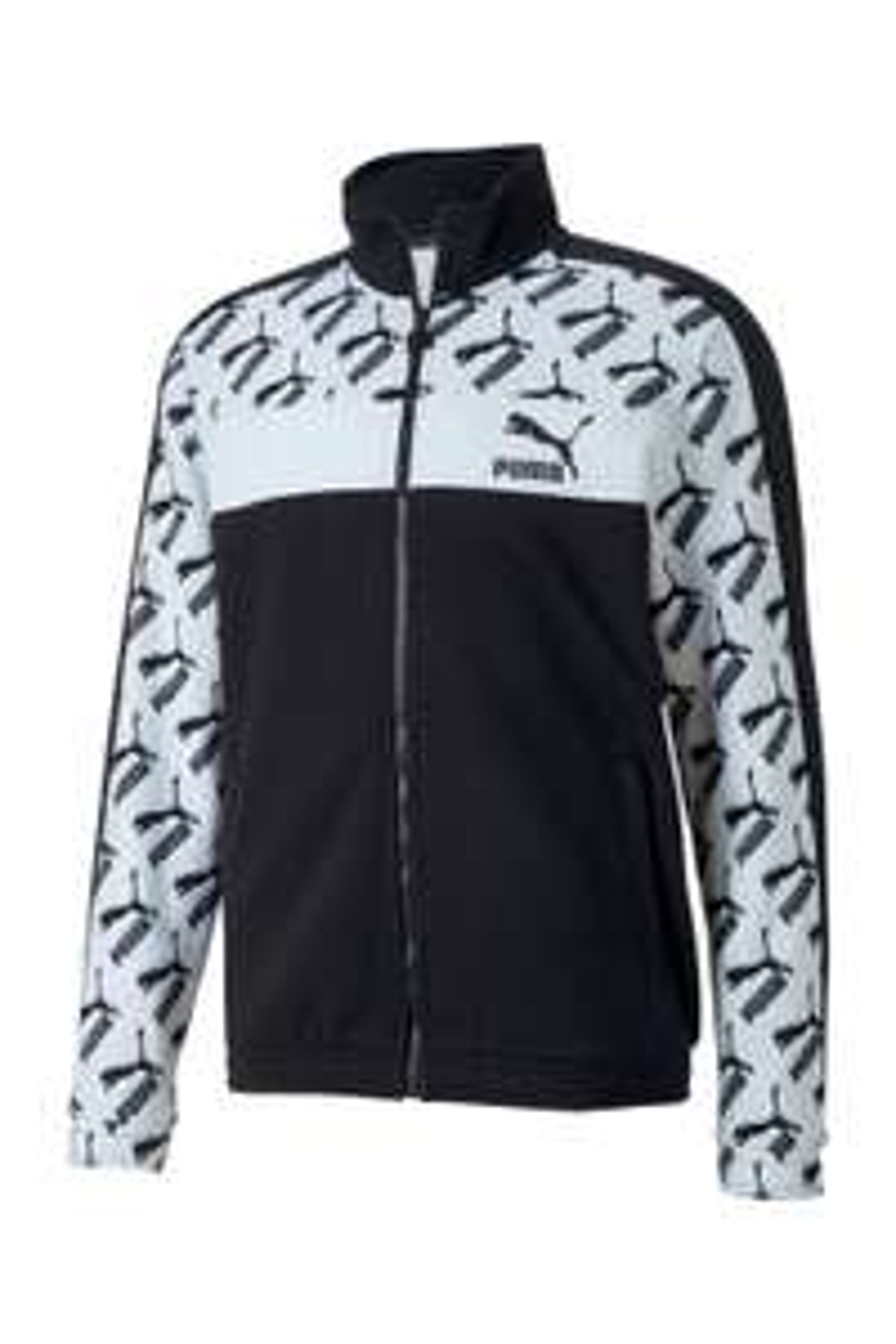 Puma vest met zwart witte logoprint [L + XL] @ Wehkamp