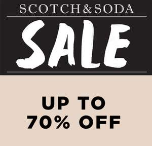 Outlet tot 70% korting @ Scotch & Soda Outlet