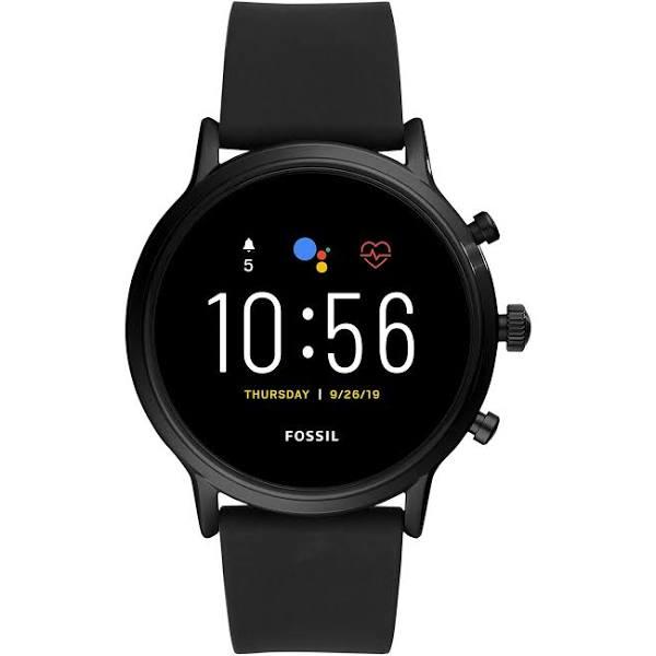 Fossil Smartwatch Gen. 5 FTW4025 Zwart Silicone Band @Amazon.nl